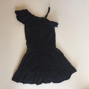 Barely worn gap kids black dress